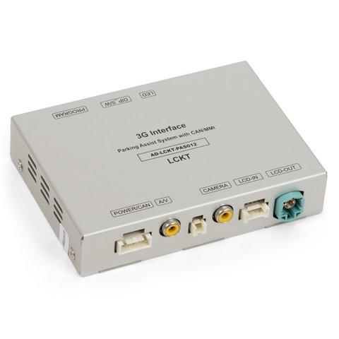 Адаптер для камеры заднего вида для Audi MMI 3G c парковочными линиями