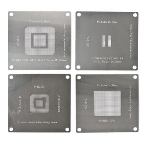 BGA Reballing Stencils for XBox 360 Jovy Systems JV-RMX