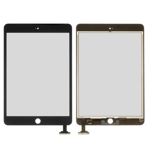 Touchscreen for Apple iPad Mini, iPad Mini 2 Retina Tablets, (black)