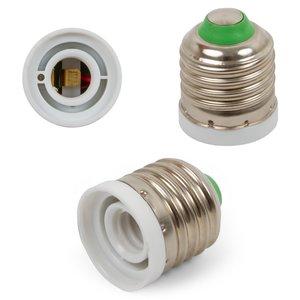 Base Adapter (E27 to E12, white)