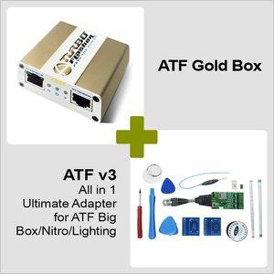 ATF Gold Box + ATF v3 All-in-1 Ultimate Adapter