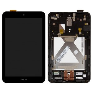 LCD for Asus MeMO Pad 8 ME180A Tablet, (black, with touchscreen, with frame)