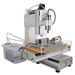 5-axis CNC Router Engraver ChinaCNCzone HY-6040 (2200 W)