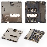 SIM Card Connector for Samsung T211, T235 Galaxy Tab 4 7.0 LTE Tablets