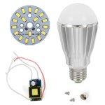 LED Light Bulb DIY Kit SQ-Q17 9 W (cold white, E27), Dimmable