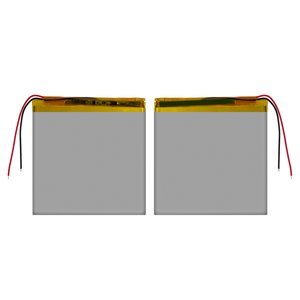Battery, (95 mm, 86 mm, 2.8 mm, Li-ion, 3.7 V, 2500 mAh)