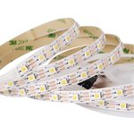 LED Strip SMD5050 (white, monochrome, with controls, IP20, 5 V, 60 LEDs/m, 5 m)