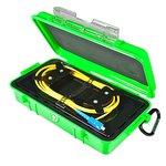 Bobina de compensación con cable para reflectómetro (OTDR) ORIENTEK FL-OTDR-BOX-SM720