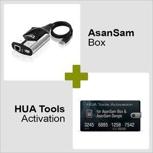 AsanSam Box y Activación HUA Tools