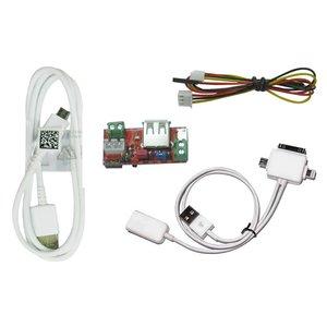 Adaptador iPower con cable USB OTG 3-en-1 para cargar MFC Dongle