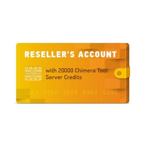 20000 créditos del servidor ChimeraTool para cuenta del distribuidor