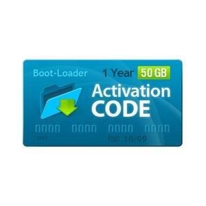 Активационный код Boot-Loader v2.0 (1 год, 50+10 ГБ)
