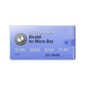 Micro-Box активация для разблокировки Alcatel