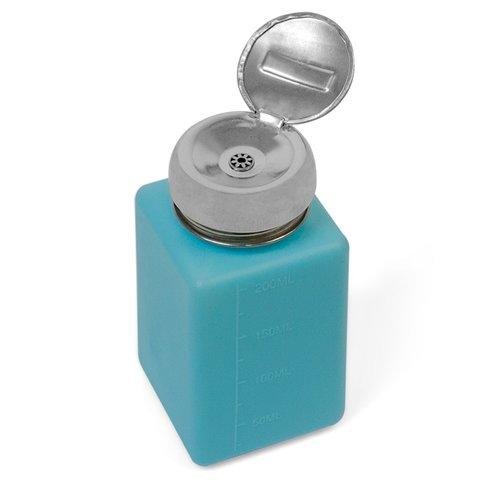 Баночка для жидкости с дозатором, 200 мл, антистатическая