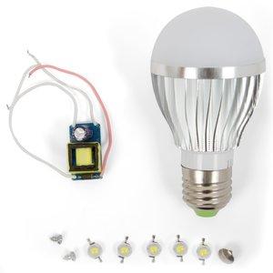 Комплект для сборки светодиодной лампы SQ-Q02 5 Вт (естественный белый, E27)