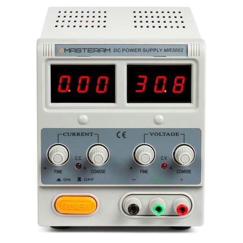 Лабораторний блок живлення Masteram MR3002