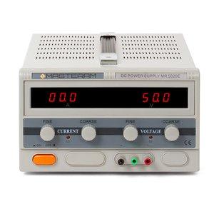 Регулируемый блок питания Masteram MR5020E