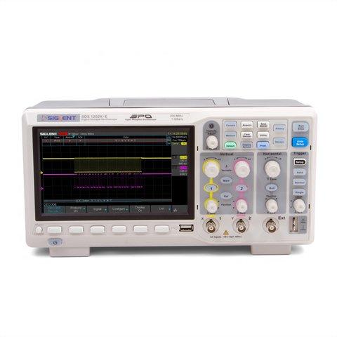 Фосфорний цифровий осцилограф SIGLENT SDS1202X E